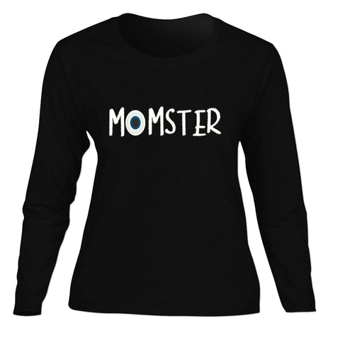 Black Momster Mommy Shirt