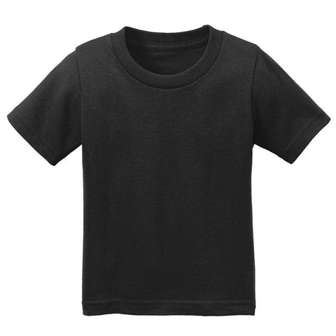 Black Shirt Short Sleeve Boy