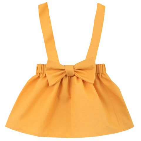 Mustard Yellow Jumper Bow