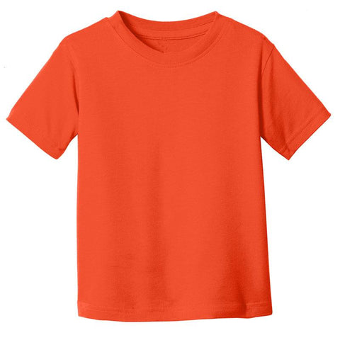 Orange Shirt Short Sleeve