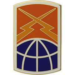 160th Signal Brigade Combat Service Identification Badge