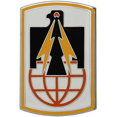 11th Signal Brigade Combat Service Identification Badge