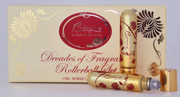 Decades of Fragrance Rollerball Set
