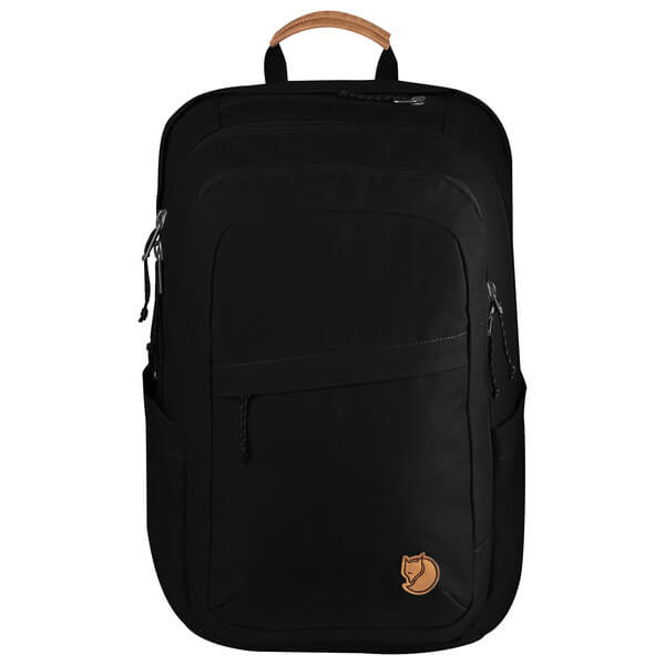 fjallraven - räven 28 heavyduty backpack - black