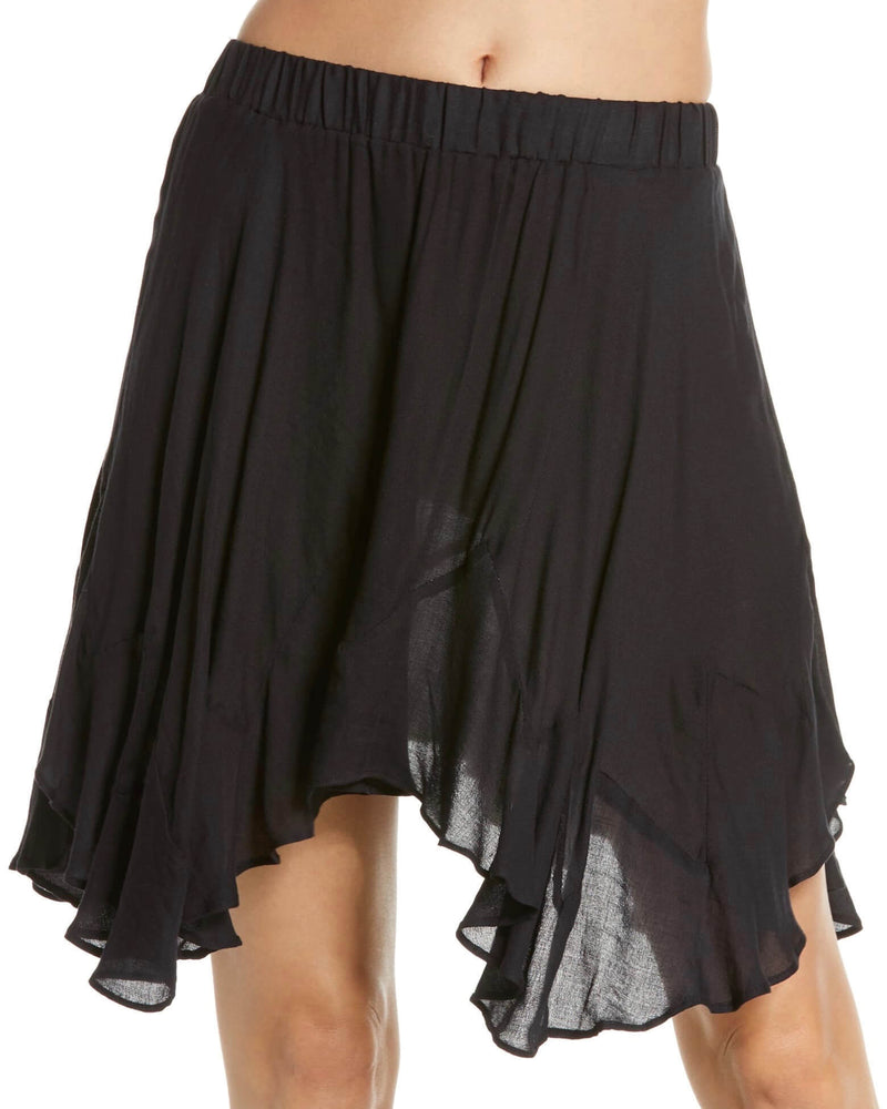 Free People - Easy Does It Half Slip Pull-On Skirt - Black