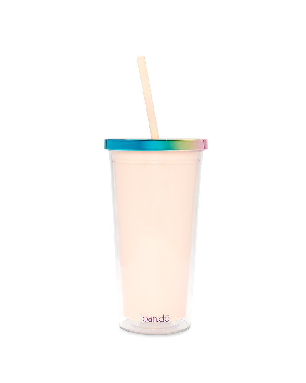 Ban.Do deluxe sip sip tumbler w/straw - optimism