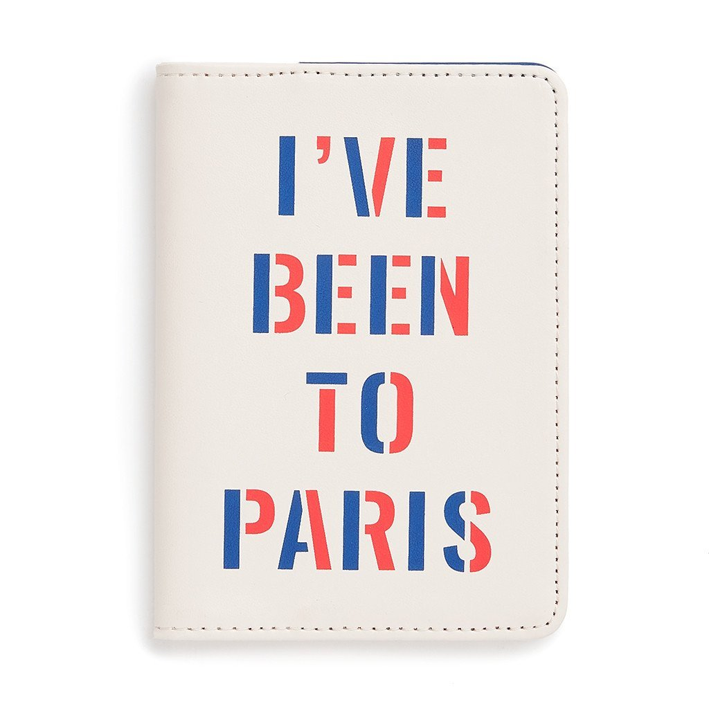 ban.do - getaway passport holder - I've been to paris