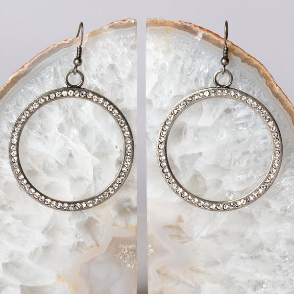 Circle of Love & Faith Earrings - w