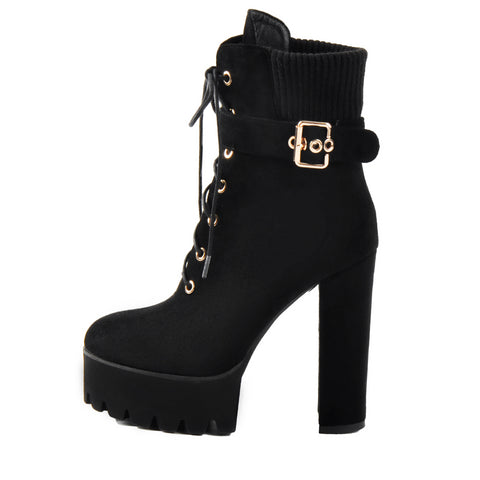 Ankle Boots for Women Heel