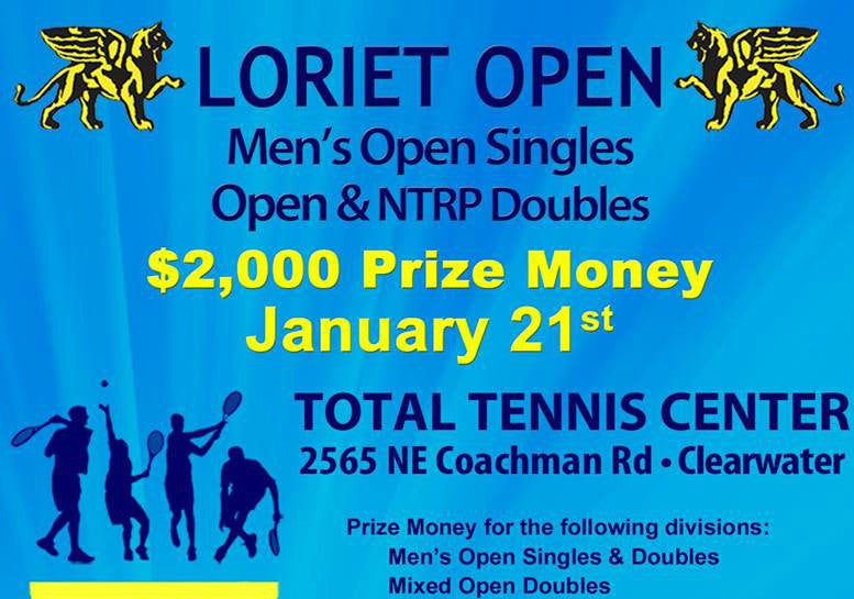 2017 Loriet Tournament Series kicks off in Clearwater FL, come out & play!