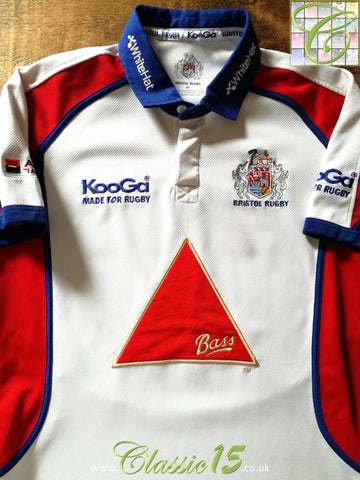2005/06 Bristol Away Rugby Shirt (M)