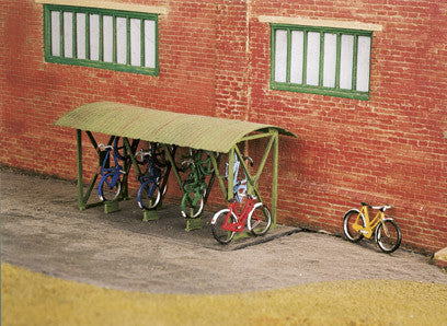 Bicycle Shed & Bicycles