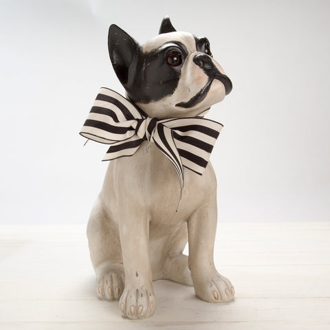 Adorable French Bull Dog Statue
