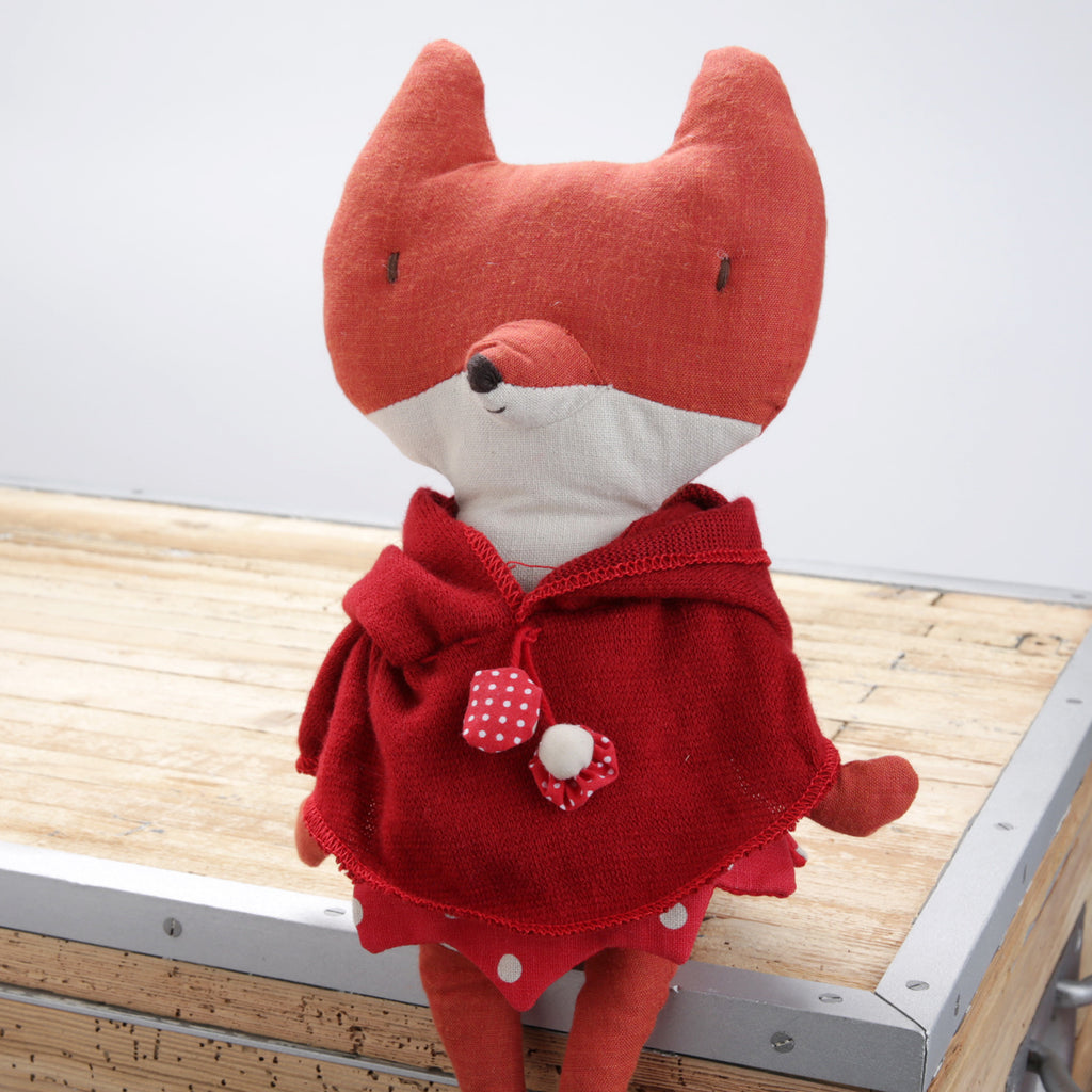 Red Hooded Fox