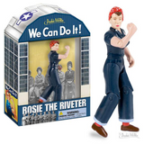 "Rosie The Riveter 5' 1/4"" Action Figure for Adults or Kids 3+"
