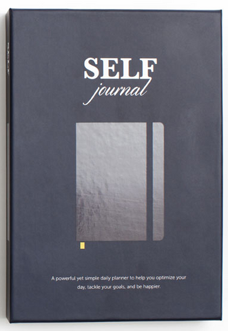 SELF Journal: The Original Agenda Daily Planner and Appointment Notebook to Achieve Goals & Increase Productivity and Happiness (+ FREE US SHIPPING)