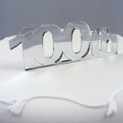 100th Birthday Cake Topper