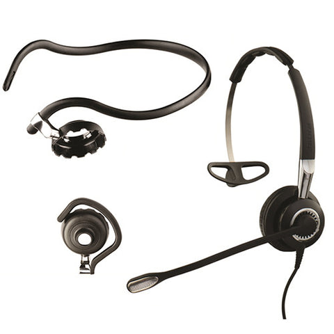Jabra Biz 2400 II mono 3-in-1 NC Headset & Smart Cable
