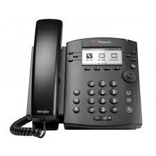 Polycom VVX 300 LYNC 6-line Desktop Phone with HD Voice