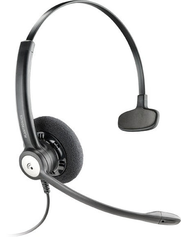Plantronics HW111N Entera Wideband Monaural Noise-cancelling Headset Top