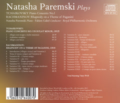 Natasha Paremski Plays Tchaikovsky and Rachmaninov