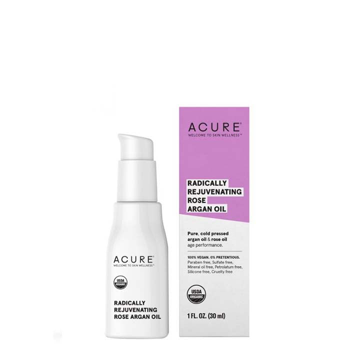 ACURE Radically Rejuvenating Rose Argan Oil - Natural Supply Co