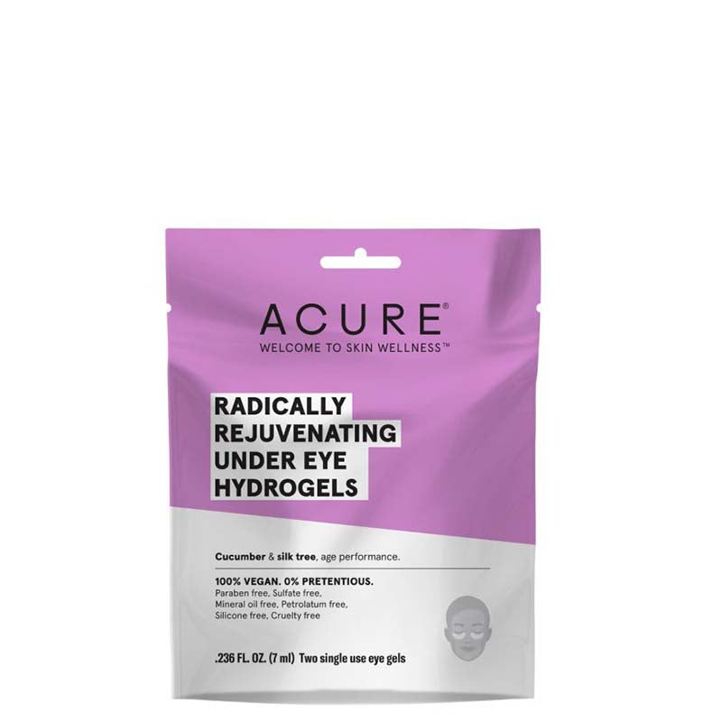 ACURE Radically Rejuvenating Under Eye Hydrogel Mask - Natural Supply Co