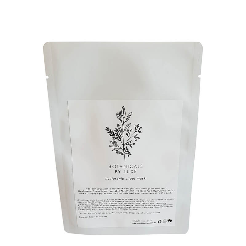 Botanicals by Luxe Hyaluronic Sheet Mask - Natural Supply Co