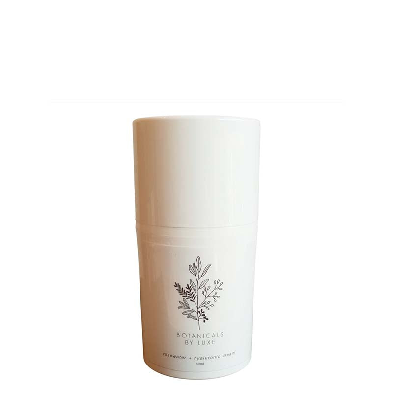 Botanicals by Luxe Rosewater + Hyaluronic Moisturising Cream - Natural Supply Co