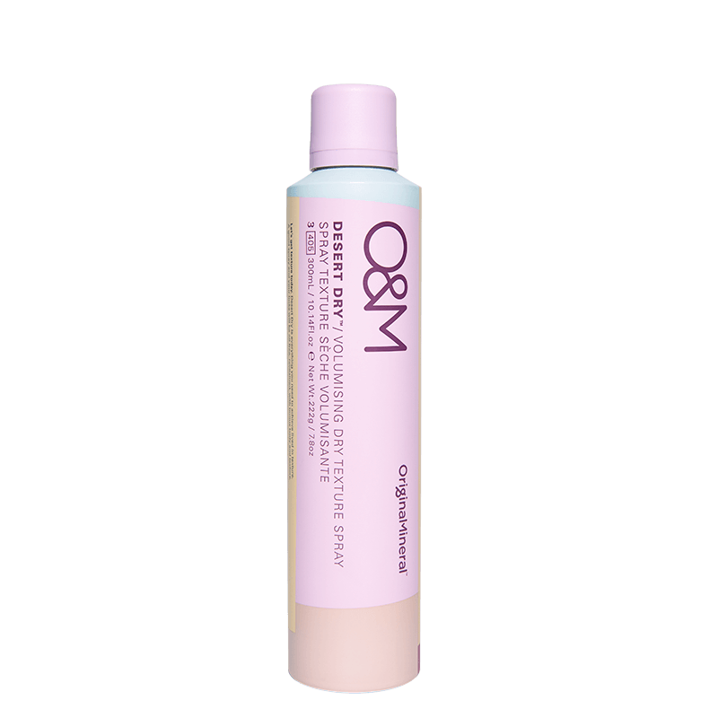 O&M Original Mineral Desert Dry Volumising Dry Texture Spray online at Natural Supply Co