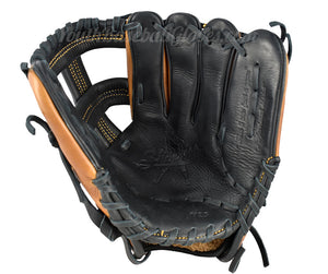 Palm view of the Pro Select 11 1/4-Inch Single Bar Shoeless Joe Gloves