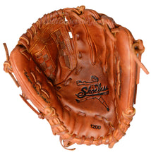 Palm of the 12-Inch Women's fastpitch basket weave web glove