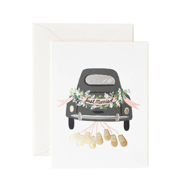 Greeting Card - Just Married - Oxley and Moss