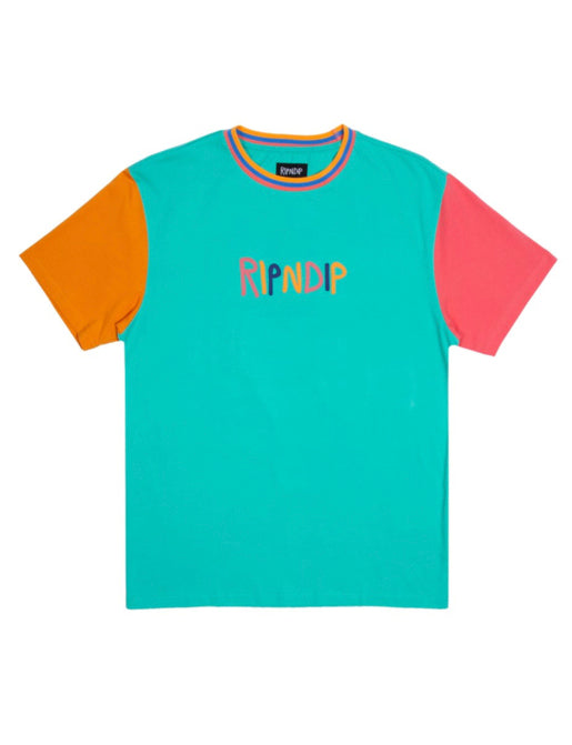 COLOUR BLOCK MULTI PANEL TEE *PRE ORDER*