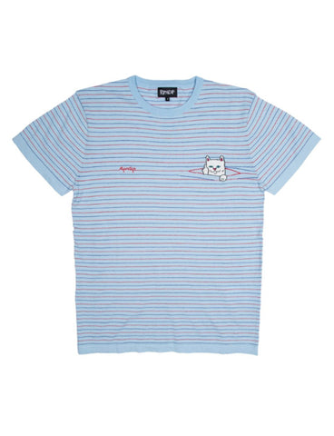 PEEKING NERMAL TEE - BABY BLUE/RED *PRE ORDER*