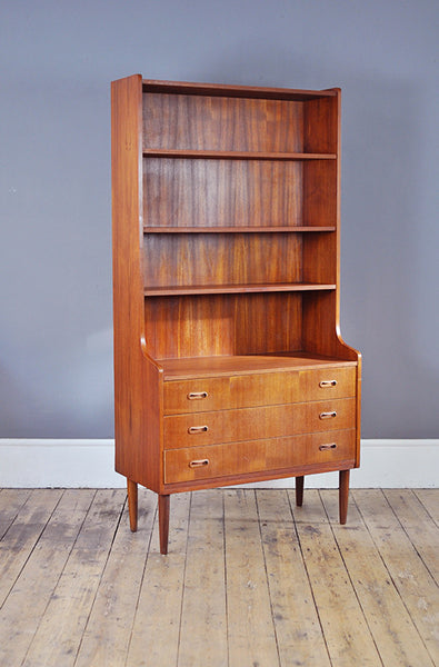 Danish Bookcase with Drawers