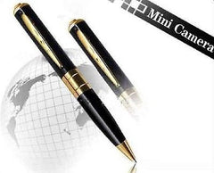 Pen Camera - 1280x960 - Black with Golden Trim