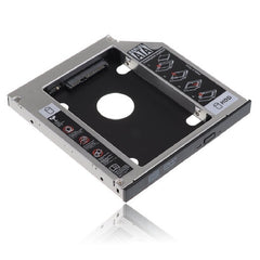 "2.5"" SATA to SATA HDD / SSD Caddy 12.7mm Case for Optical Drive - Silver-Black"
