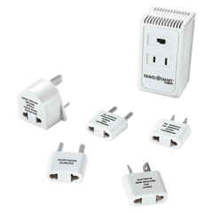 Conair Travel Smart High/Low 1875 Watt Converter and Adapter Set - White