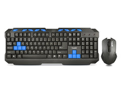 Havit HV-KB539CM USB2.0 Multimedia Gaming Keyboard Mouse Combo - Black