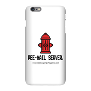 iPhone 6 Plus phone cases - 'Pee-mail server' Hydrant - Miss Booger's Pet Sitting & Supplies