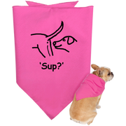 'Sup?' Dog Bandana - Miss Booger's Pet Sitting & Supplies