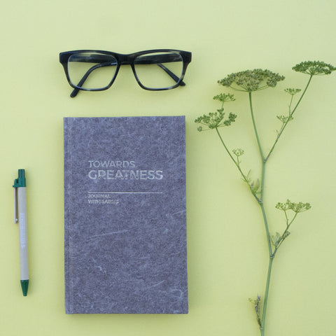 Towards Greatness - Journal with Saints - Eco-friendly journals