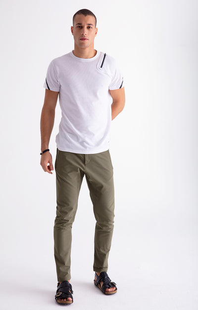 Realist - The Modern Tailored Travel Tech Pants in Olive Green