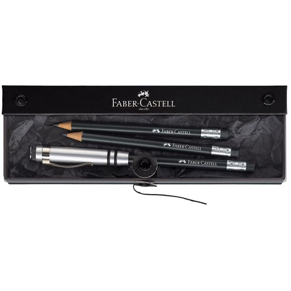 Faber-Castell Perfect Pencil Design Gift Set- Black