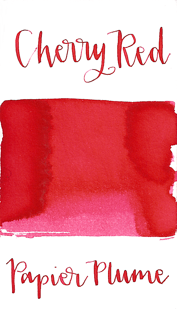 Papier Plume Cherry Red