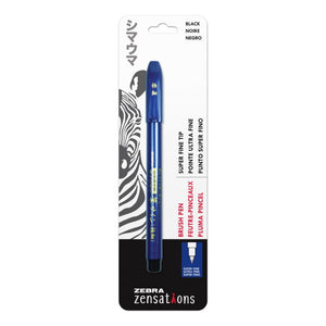 Zebra Zensations Brush Pen- Ultra Fine
