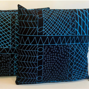 Bye Mee Cushion Cover - Bima Blue-Bye Mee-Starwin Social Enterprise