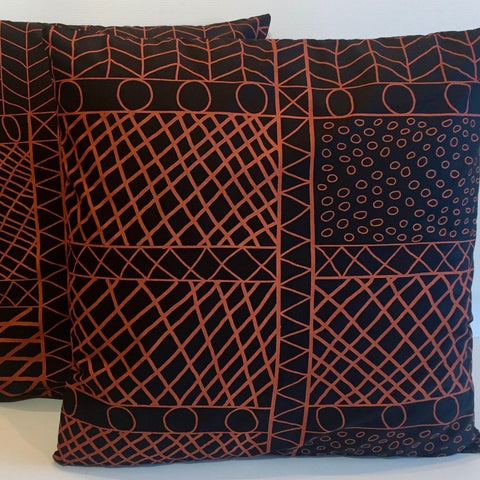 Bye Mee Cushion Cover - Bima Red-Bye Mee-Starwin Social Enterprise