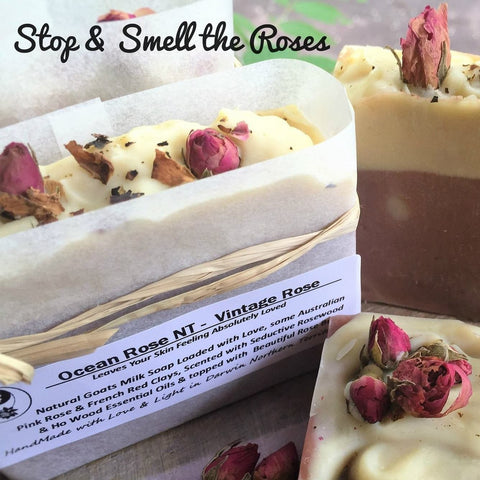 Starwin Social Enterprise, Ocean Rose Vintage Rose Soap Bar